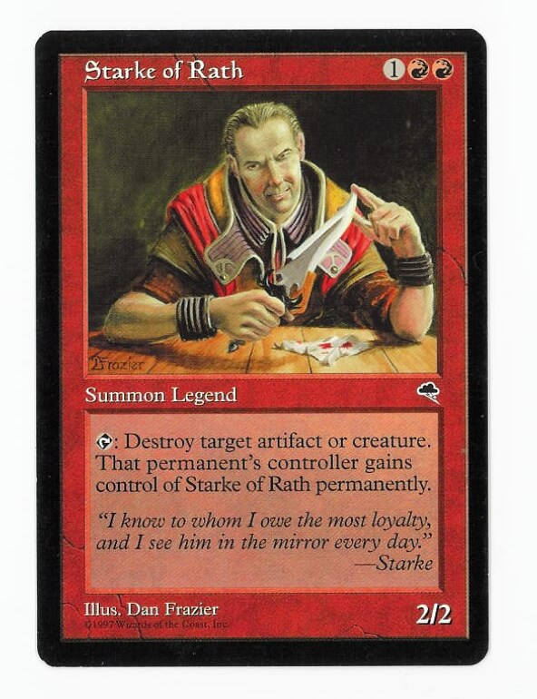 Starke of Rath ~ Tempest ~ Excellent ~ Magic The Gathering