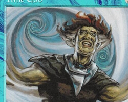 Magic the Gathering Tempest Card: Time Ebb