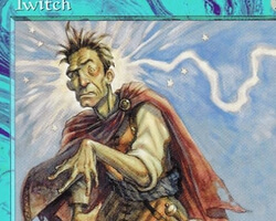 Magic the Gathering Tempest Card: Twitch