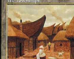 Magic the Gathering Tempest Card: Vec Townships
