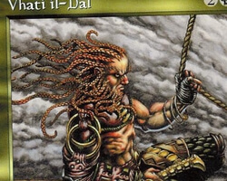 Magic the Gathering Tempest Card: Vhati il-Dal