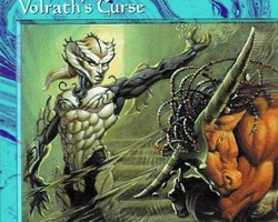 Magic the Gathering Tempest Card: Volrath's Curse