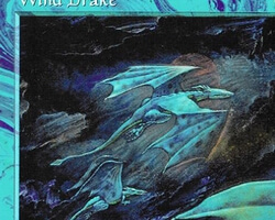 Magic the Gathering Tempest Card: Wind Drake