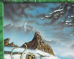 Magic the Gathering Tempest Card: Winter's Grasp