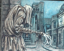 Magic the Gathering The Dark Card: Rag Man (Torn)