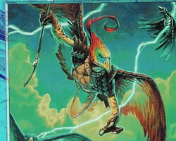 Magic the Gathering Torment Card: Skywing Aven