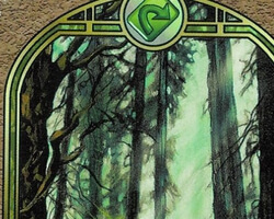 Magic the Gathering Unglued Card: Forest