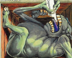 Magic the Gathering Unglued Card: Lexivore