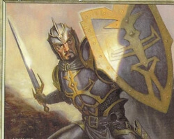 Magic the Gathering Urza's Destiny Card: Capashen Templar
