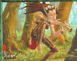 Magic the Gathering Urza's Destiny Card: Elvish Piper