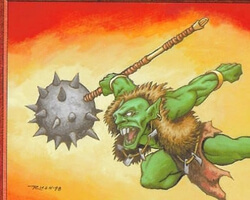 Magic the Gathering Urza's Destiny Card: Goblin Berserker