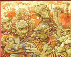 Magic the Gathering Urza's Destiny Card: Goblin Festival
