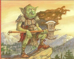Magic the Gathering Urza's Destiny Card: Goblin Marshal