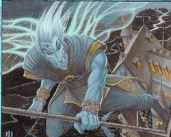 Magic the Gathering Urza's Destiny Card: Illuminated Wings