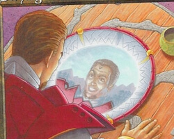 Magic the Gathering Urza's Destiny Card: Scrying Glass