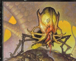 Magic the Gathering Urza's Destiny Card: Skittering Horror