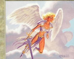 Magic the Gathering Urza's Destiny Card: Tormented Angel
