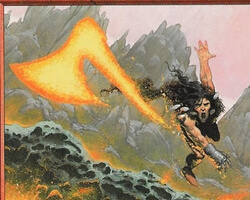 Magic the Gathering Urza's Legacy Card: Lava Axe