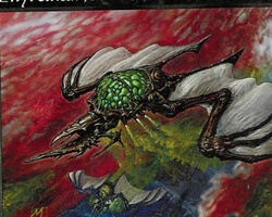 Magic the Gathering Urza's Legacy Card: Phyrexian Debaser