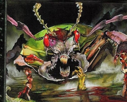 Magic the Gathering Urza's Legacy Card: Plague Beetle