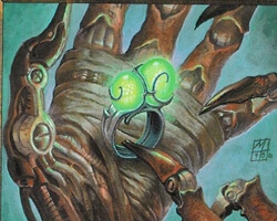 Magic the Gathering Urza's Legacy Card: Ring of Gix