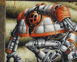 Magic the Gathering Urza's Legacy Card: Thran War Machine