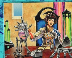 Magic the Gathering Urza's Legacy Card: Tinker