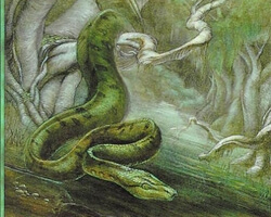 Magic the Gathering Urza's Saga Card: Anaconda