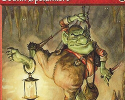 Magic the Gathering Urza's Saga Card: Goblin Spelunkers