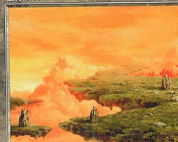 Magic the Gathering Urza's Saga Card: Plains (a)