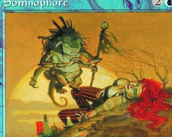 Magic the Gathering Urza's Saga Card: Somnophore