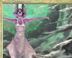Magic the Gathering Urza's Saga Card: Songstitcher