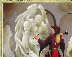 Magic the Gathering Urza's Saga Card: Soul Sculptor