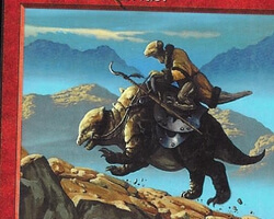 Magic the Gathering Urza's Saga Card: Viashino Outrider