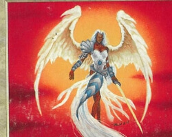 Magic the Gathering Visions Card: Archangel