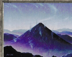 Magic the Gathering Visions Card: Dormant Volcano