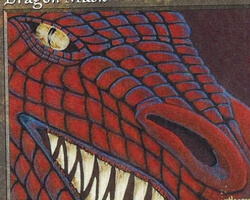 Magic the Gathering Visions Card: Dragon Mask