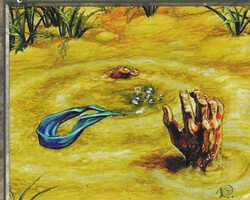 Magic the Gathering Visions Card: Quicksand