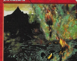 Magic the Gathering Visions Card: Solfatara
