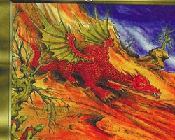 Magic the Gathering Visions Card: Viashivan Dragon
