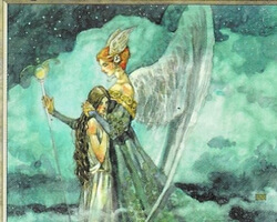 Magic the Gathering Weatherlight Card: Angelic Renewal