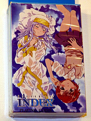 A Certain Magical Index Playing Cards: Poker Deck