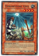 Yu-Gi-Oh! Legacy of Darkness Card: Throwstone Unit