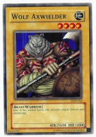 Yu-Gi-Oh! Legacy of Darkness Card: Wolf Axwielder
