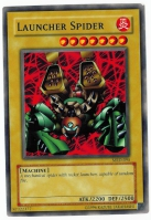 Yu-Gi-Oh! Metal Raiders Card: Launcher Spider