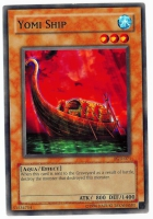 Yu-Gi-Oh! Pharaonic Guardian Card: Yomi Ship