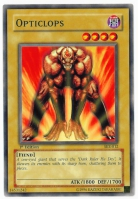 Yu-Gi-Oh! Starter Deck: Kaiba Evolution Card: Opticlops