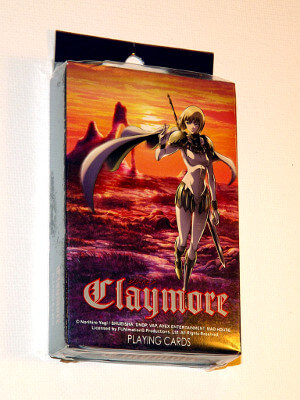 Claymore Playing Cards: Poker Deck