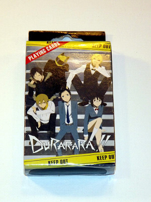 Durarara!! Playing Cards: Poker Deck