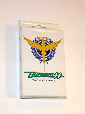 Mobile Suit Gundam 00 Playing Cards: Poker Deck